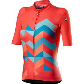 Castelli Unlimited Maglietta a maniche corte Donna, rosa